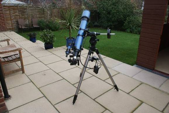Setting up your new telescope
